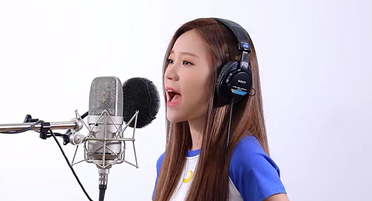 K-POPアーティストが歌う日本のヒット曲企画第9弾、企画初の女性アーティストMAYが登場!話題曲「夜に駆ける」をカバーして歌う動画を公開