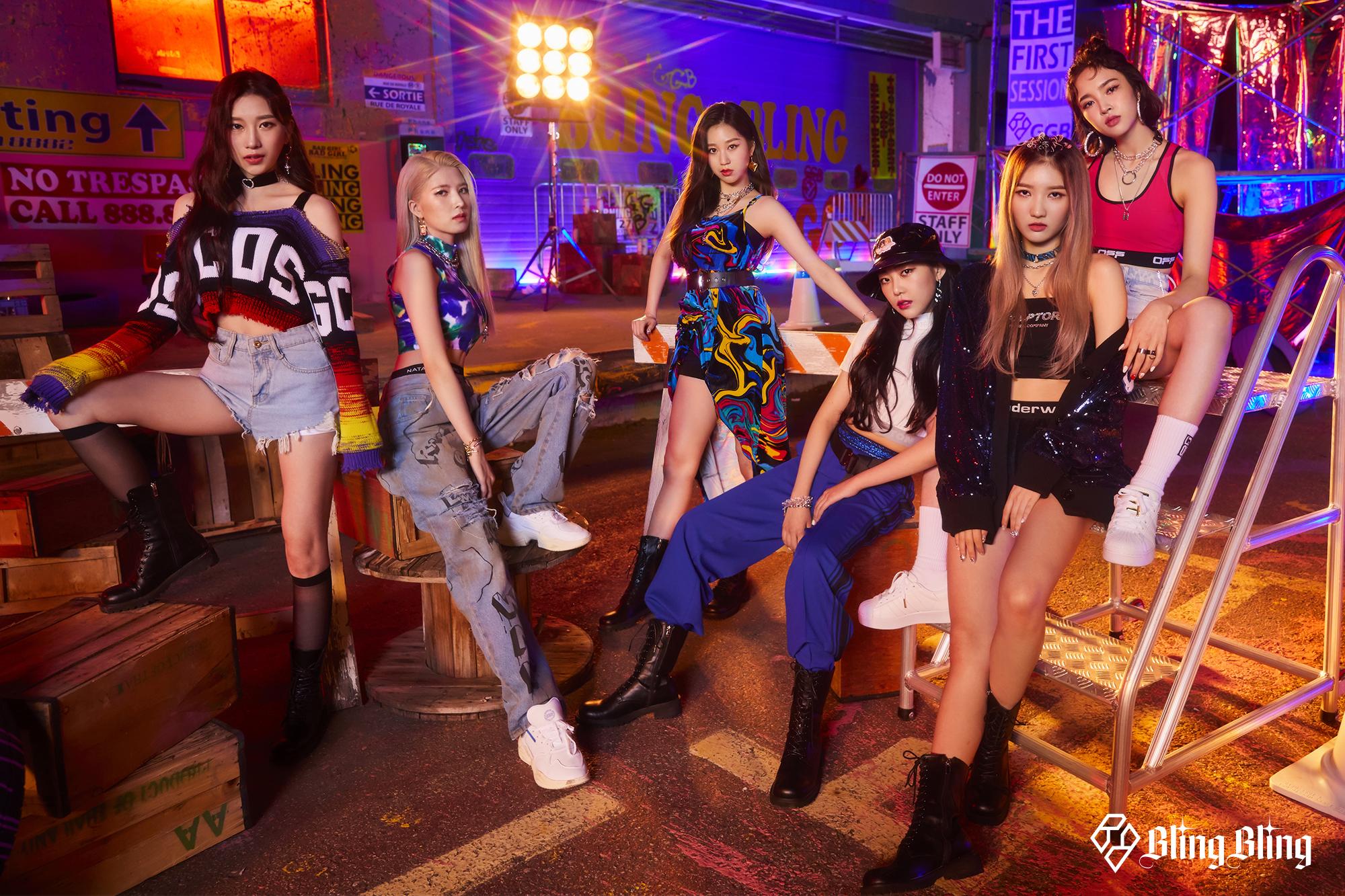 日本人メンバー2名が所属する新生K-POPガールズユニット『Bling Bling』 日韓同時デビュー決定!デビュー曲「G.G.B」11月18日0時より配信開始!